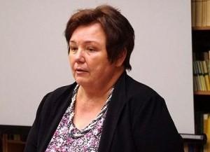 VLKK Kalbos politikos pakomisės narė prof. dr. Laima Kalėdienė    Alkas.lt, A. Rasakevičiaus nuotr.