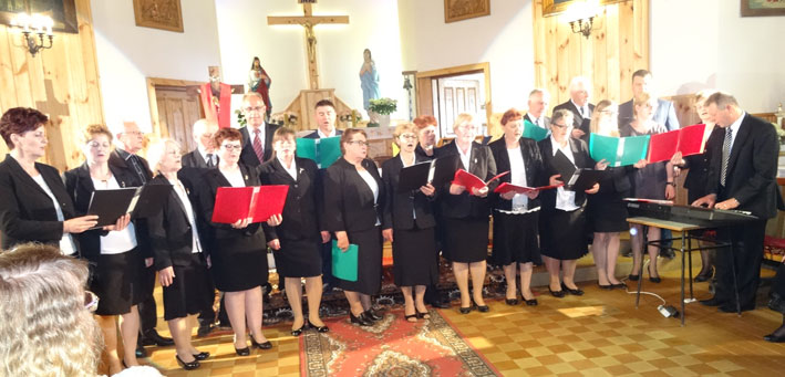 Seinų bažnytinis choras, vad. Vytautas Grigutis, chorved. Sławomir Kardel