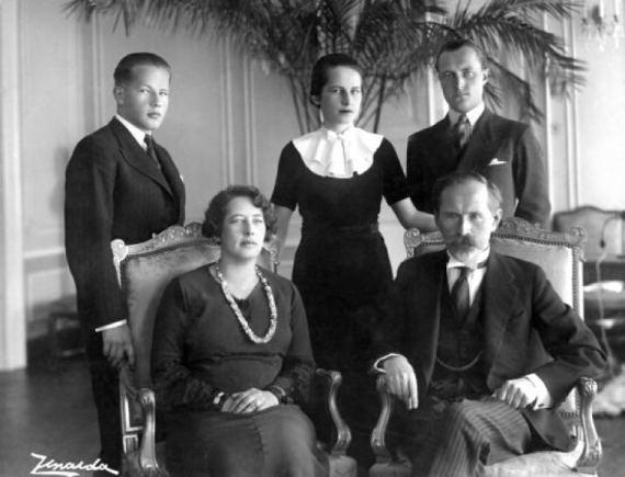 Antanas Smetona su šeima Amzinaitavo.lt archyvo nuotr.