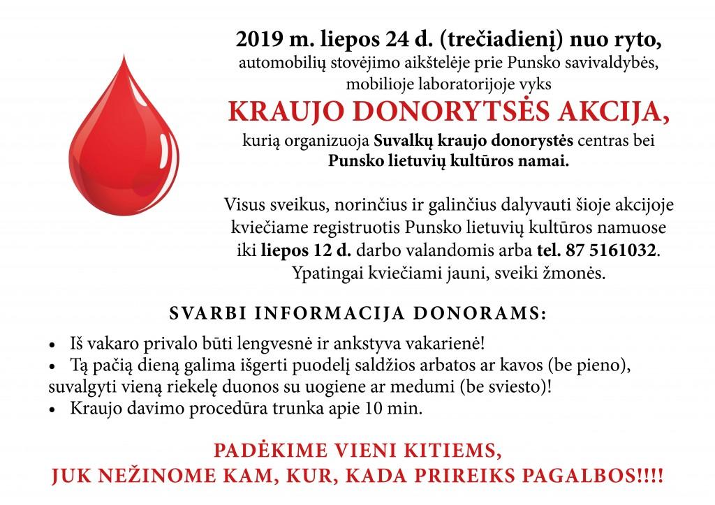 Donorystes akcija