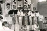 Romas Žemaitis, Sigitas Tamkevičius, Jonas Kastytis Matulionis (Kybartų Eucharistinio Išganytojo parapijos bažnyčia)