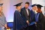 Diplomo įteikimas