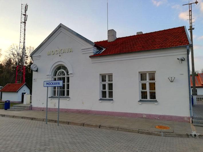 Mockavos traukinių stotis