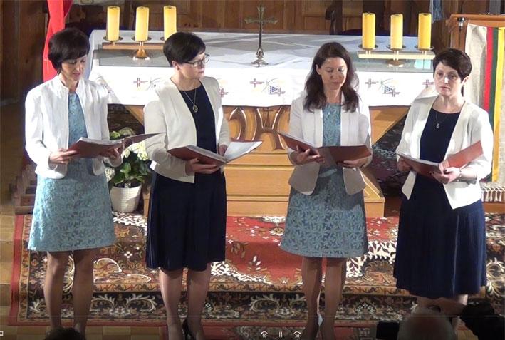 Punsko kvarteto giesmininkės